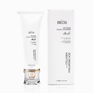 BEOS GLOW X + 24K FACIAL CLEANSER