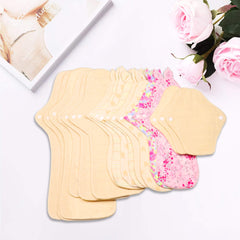 luckypads cotton pads heavy flow set