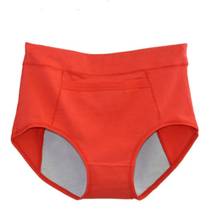 Low Cost High Waist Menstrual Underwear Leakproof