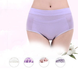 Best Savings High Waist Menstrual Underwear Leakproof