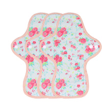 Load image into Gallery viewer, 3-piece Panty Liners Plus/Day Pads/Night Pads/Night Pads Plus(Pattern Red)