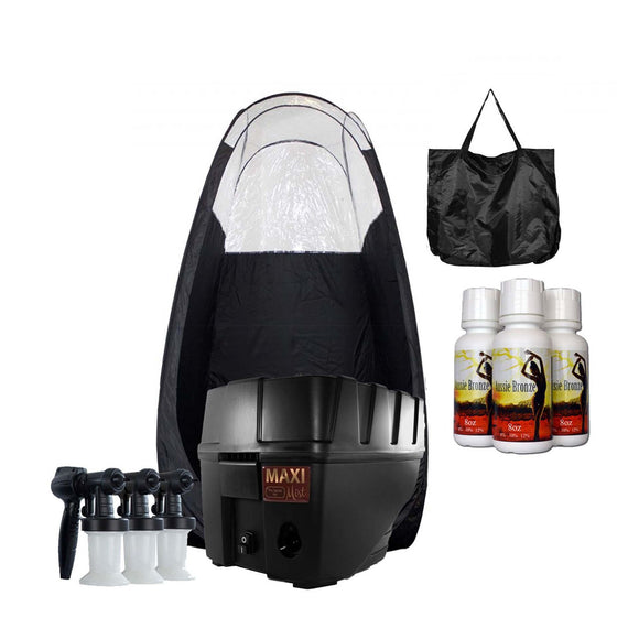 MaxiMist Pro TNT Spray Tanning System with Tent