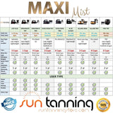 MaxiMist Lite Pro Spray Tanning System with Tent