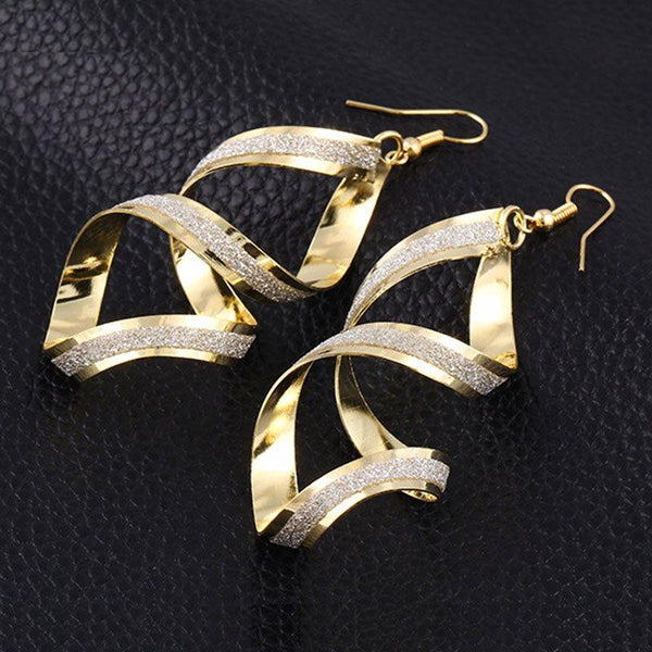 Alloy E-Plating Plain Party Earrings