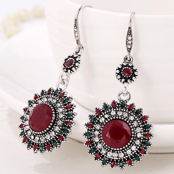 Fashion Vintage Rhinestone Earrings