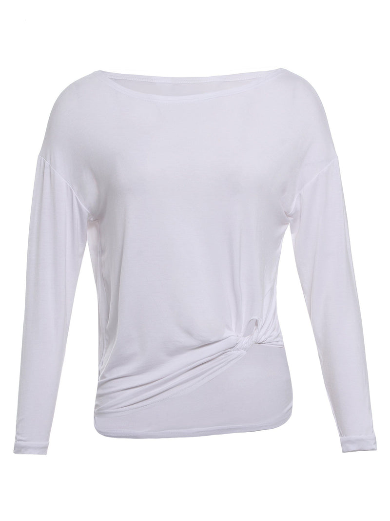 Round Neck Casual T-shirt