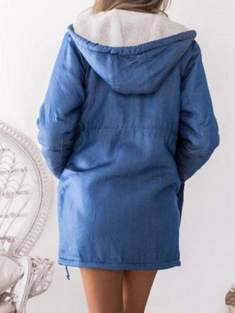 Hooded Zipper Cotton Clothes - Comfyfree