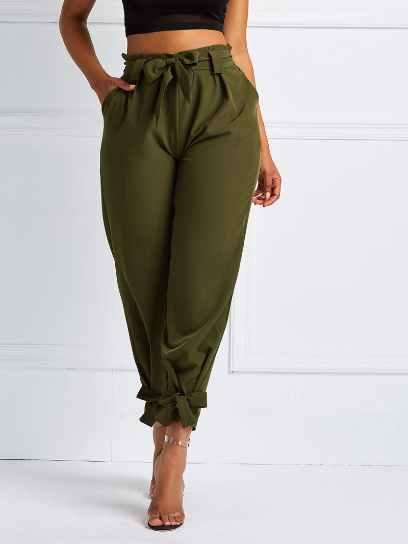 Loose Harem Pants Full Length Casual Pants - Comfyfree