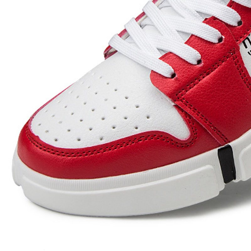 Sports High-Cut Upper Lace-Up Round Toe Lace-Up Sneakers