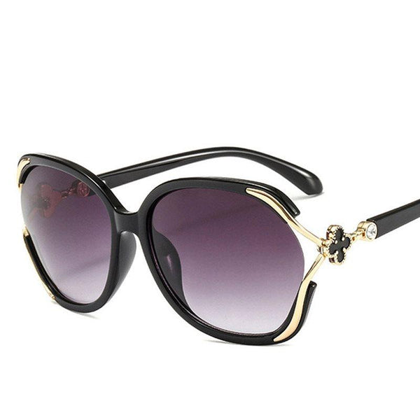 Resin Fashion Wrap Sunglasses