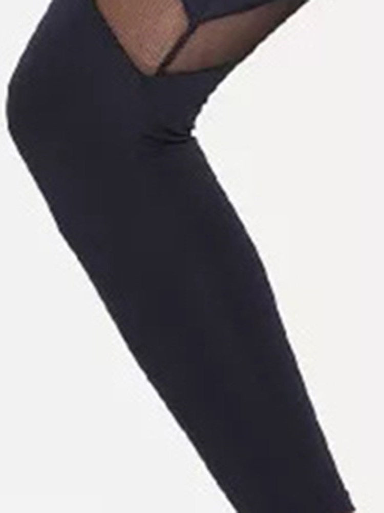 Casual Patchwork High-Waist Leggings - Comfyfree