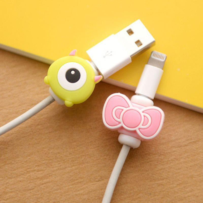 Cute Cable Bites Phone Cord Charging Data Line Protector ( Random )