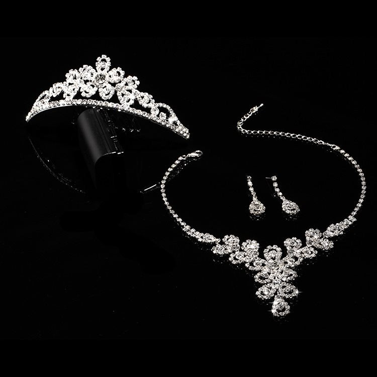 Plant Tiara Korean Engagement Jewelry Sets