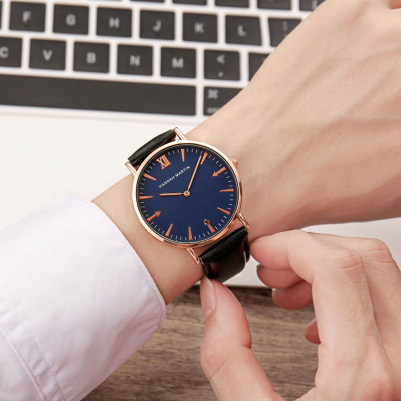 Round Hardlex Quartz Watches