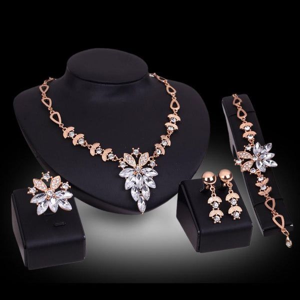 Earrings E-Plating Plant Party Jewelry Sets