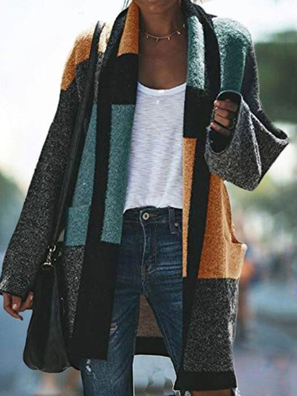 Thick Wrapped Regular Long Sleeve Mid-Length Sweater