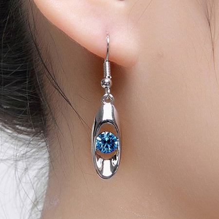Earrings E-Plating Water Drop Party Jewelry Sets