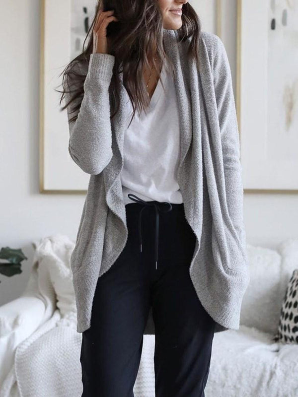 Straight Mid-Length Sweater