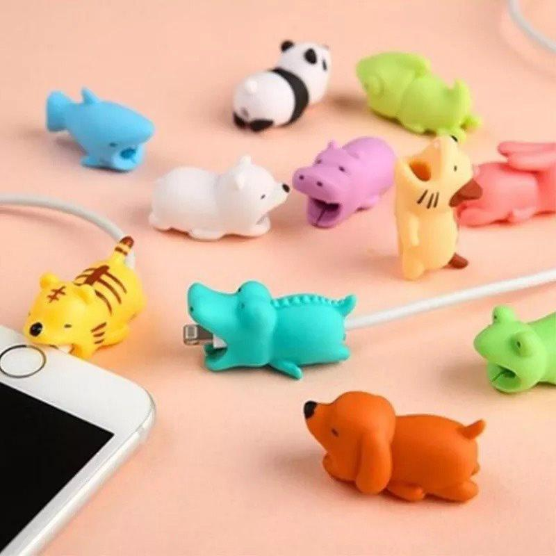 Animal Shape Cable Bite Protector