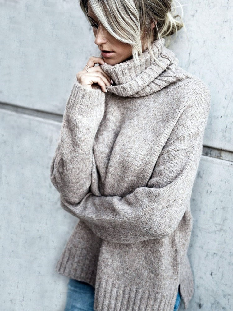 Thin Regular Long Sleeve Winter Sweater