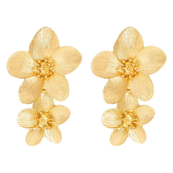 Alloy Floral European Holiday Earrings