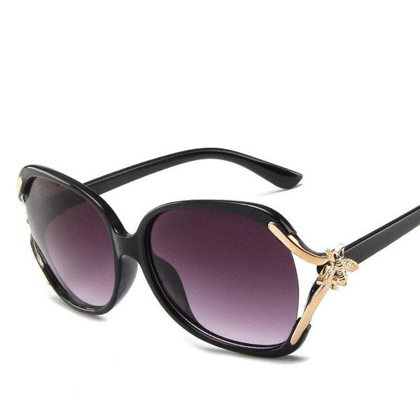 Fashion Wrap Resin Sunglasses