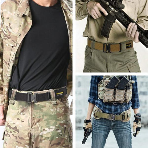 Ihrtrade,Outdoor,NCFS00091,Military tactical belt,Heavy duty nylon belt,Military style tactical nylon bel