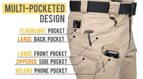 Lots of pocket storage and full waterproofing, they're built to trek