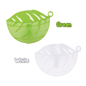 Leaf Shaped Strainer