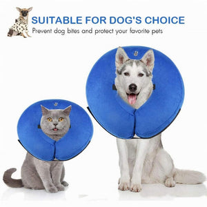 Wound Recovery Inflatable Pets Collar