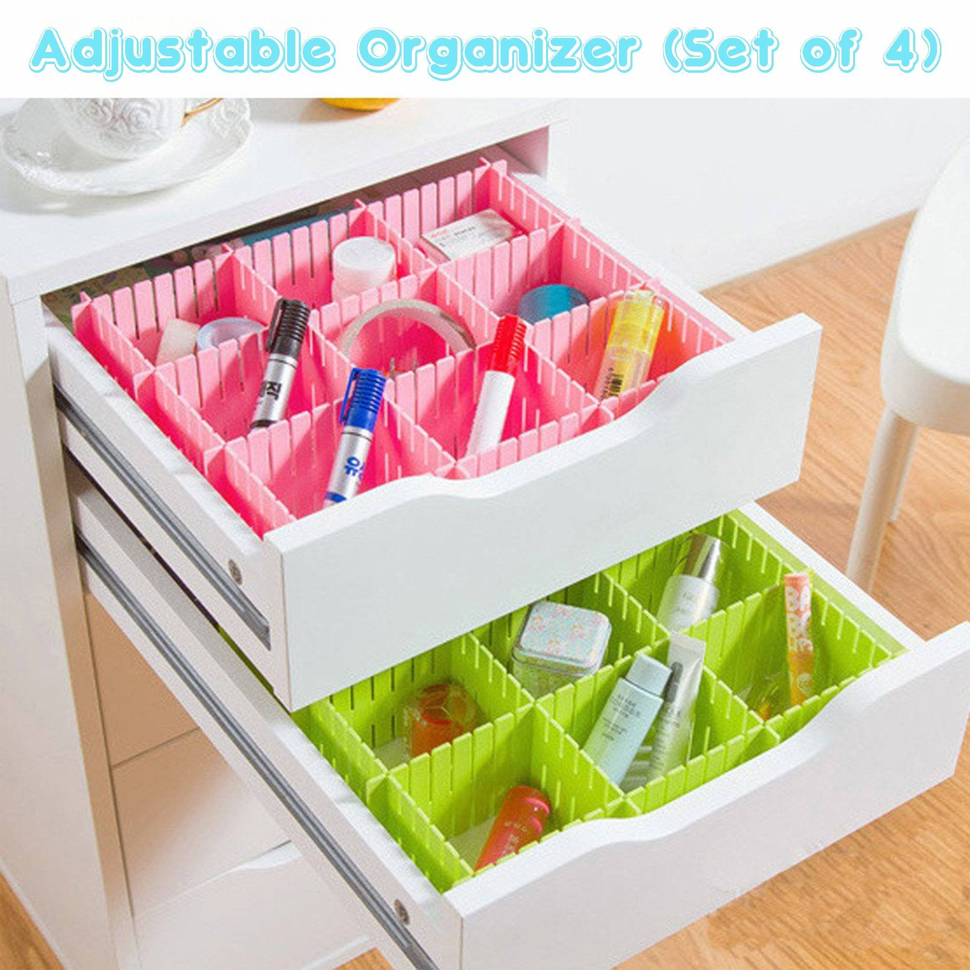 Adjustable Organizer (Set of 4)
