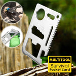 Multitool Survival Pocket Card