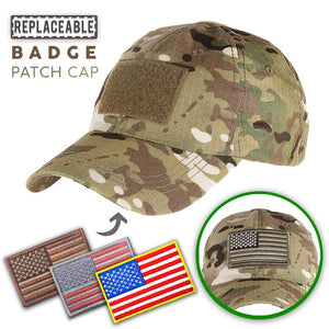 Replaceable Badge Patch Cap