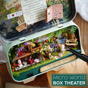 DIY Micro World Box Theater