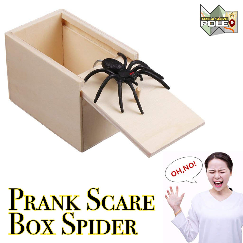 Prank Scare Box Spider