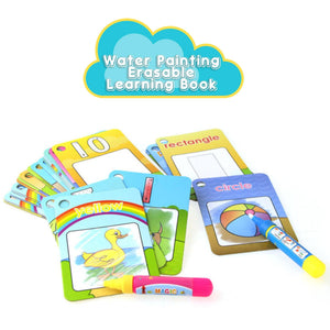 Water Painting Erasable Learning Book