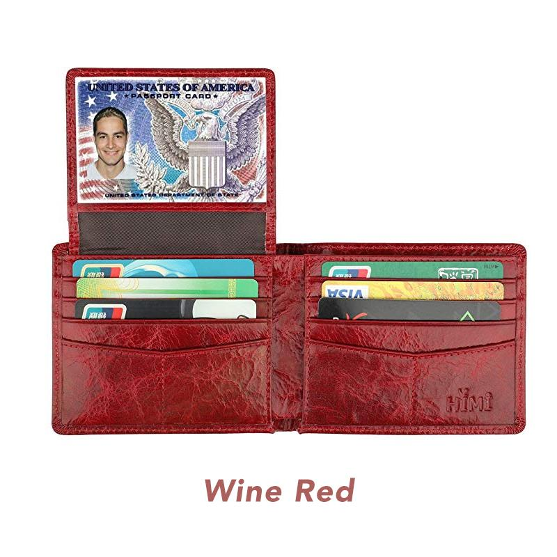 RFID Blocking Leather Wallet