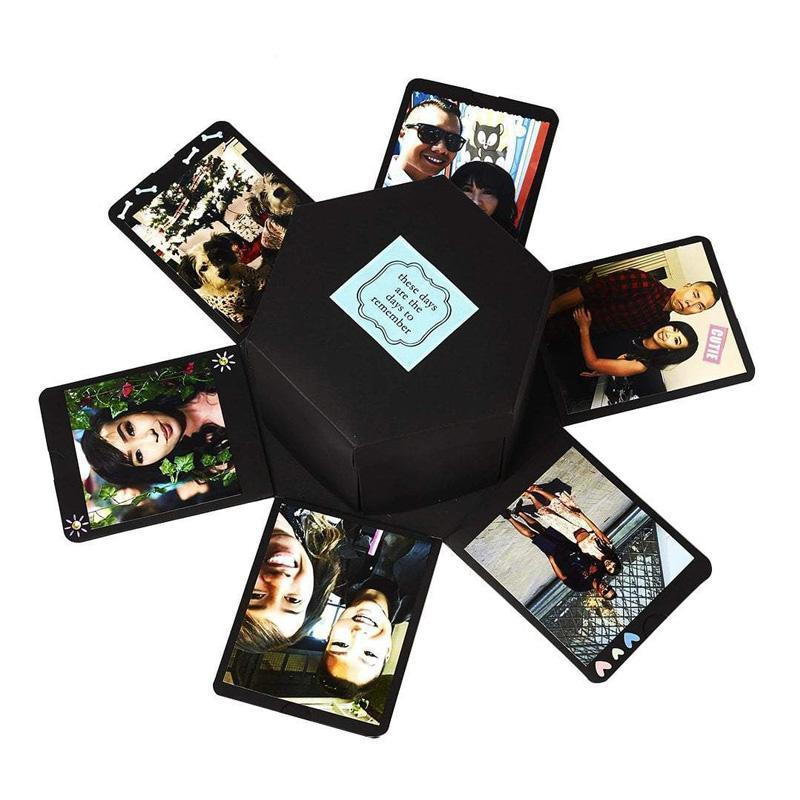 Customisable Hexagon Love Box