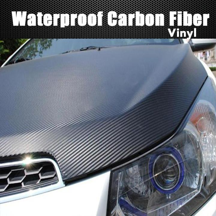3D Waterproof Carbon Fiber Vinyl Wrap