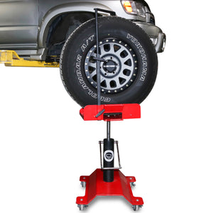 TRAC | Tire Rotation Assistance Cart With Tire