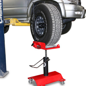 TRAC | Tire Rotation Assistance Cart Side View
