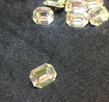 Preciosa Optima Clear Octagons 10x8mm