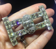 Art Deco Clear Square Fabulousness
