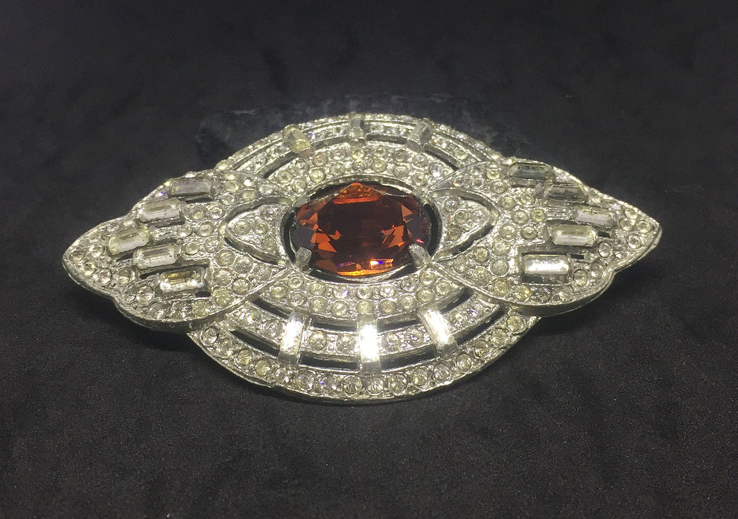 Beautiful Large Statement Brooch circa 1920