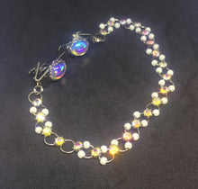 Retro Opal Cabochon Sweater Guard