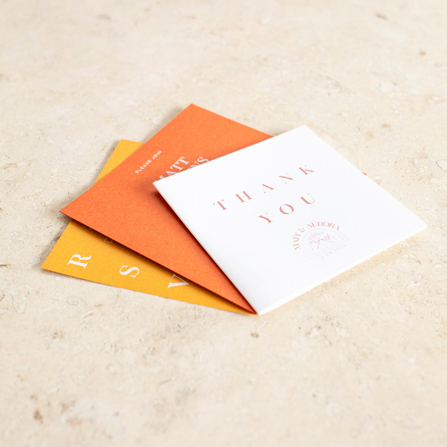 Together Thank You Card
