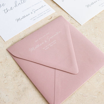 Printed Square Envelopes