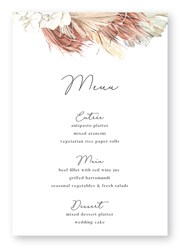Byron Menu