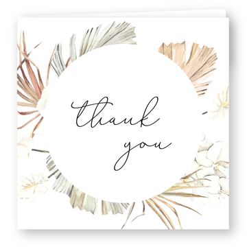Byron Thank You Card