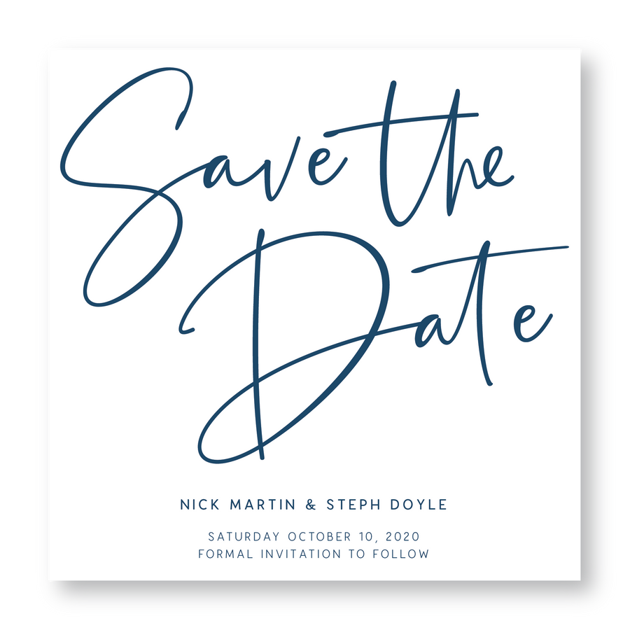 Bondi Save The Date
